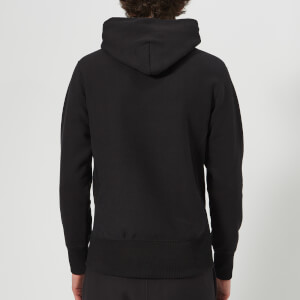 Champion Men's Hooded Sweatshirt - Black: Image 2