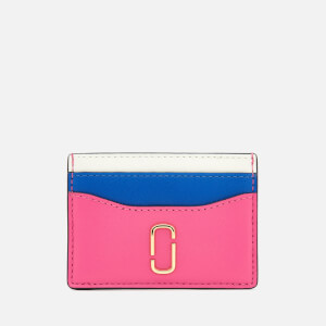 Marc Jacobs Women's Snapshot Card Case - Vivid Pink