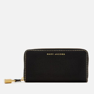 Marc Jacobs Women's The Grind Continental Wallet - Black