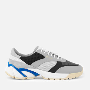 Axel Arigato Men's Tech Runner Style Trainers - Grey/Blue/Black