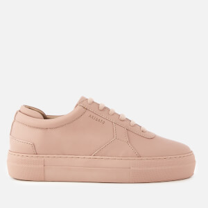 Axel Arigato Women's Platform Leather Trainers - Pale Pink