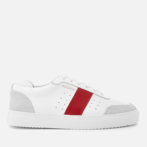 Axel Arigato Women's Dunk Leather Trainers - White/Red
