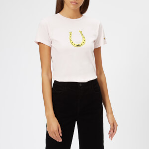 Bella Freud Women's Horseshoe T-Shirt - Pale Pink