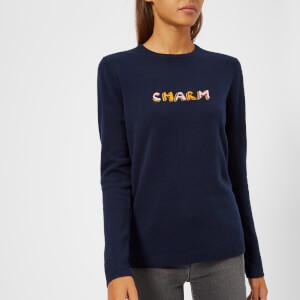 Bella Freud Women's Cashmere Charm Jumper - Navy