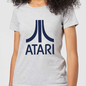 Atari Logo Women's T-Shirt - Grey