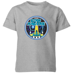 Atari Star Raiders Kinder T-shirt - Grijs