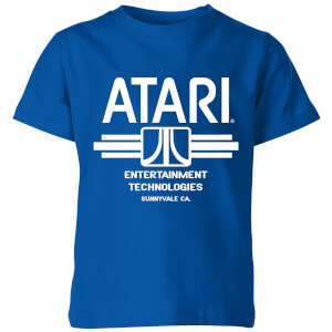 Atari Ent Tech Kinder T-Shirt - Royal Blau