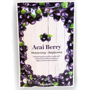 Vitamasques Acai Berry Moisturising and Brightening Face Mask