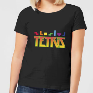Tetris Multi Blocks Damen T-Shirt - Schwarz