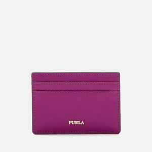 Furla Women's Babylon Small Credit Card Case - Purple
