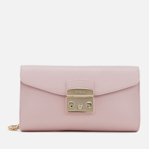 Furla Women's Metropolis Small Chain Pochette - Blush