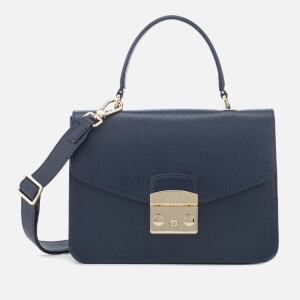 Furla Women's Metropolis Small Top Handle Bag - Blue