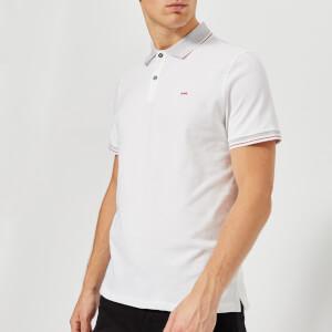 Michael Kors Men's Stretch Pique Greenwich Polo Shirt - White
