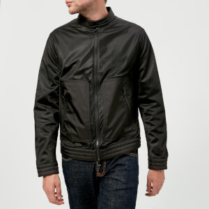 Michael Kors Men's Mesh Blocked Moto Jacket - Black