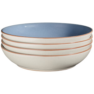 Denby Always Entertaining - Blues - 4 Piece Pasta Bowl Set