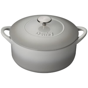 Denby Natural Canvas Cast Iron - 24cm Round Casserole