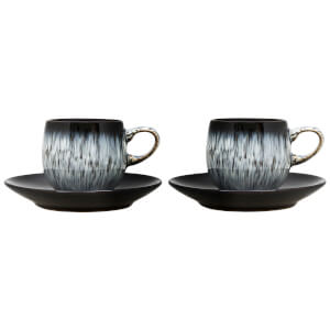 Denby Halo 4 Piece Espresso Set