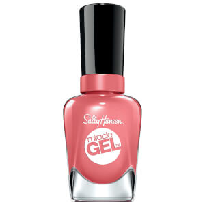 Sally Hansen Miracle Gel Sun Baked Collection Nail Polish - Koi Coral 14.7ml