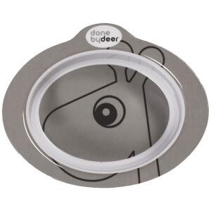 Done By Deer Anti-Slip Bowl Contour - Grey