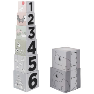 Done By Deer Stacking Cubes - Grey