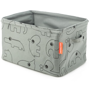 Done By Deer Soft Storage Doublesided - Grey