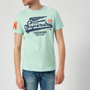 Superdry Men's High Flyers T-Shirt - Pastel Mint Marl