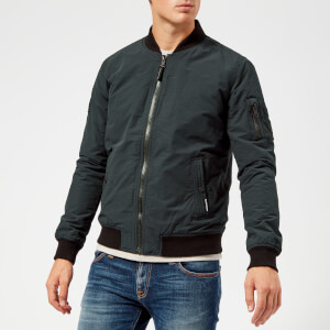 Superdry Men's Air Corps Bomber Jacket - Eclipse Navy