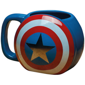 Tasse 3D Captain America - Marvel