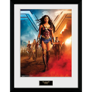 DC Comics Wonder Woman Group 12 x 16 Inches Framed Photograph