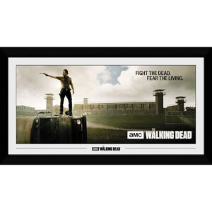 The Walking Dead Prison 50 x 100cm Framed Photograph