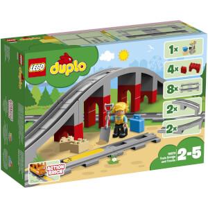 LEGO DUPLO Town: Eisenbahnbrücke und Schienen (10872)
