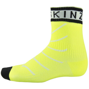 Sealskinz Super Thin Road Pro Ankle Socks with Hydrostop - Yellow