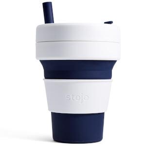 Stojo 16oz Biggie Collapsible Coffee Cup - Indigo