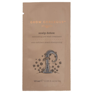 Grow Gorgeous Scalp Detox for a purified and refreshed scalp