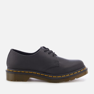 Dr. Martens Women's 1461 W Virginia Leather 3-Eye Shoes - Black