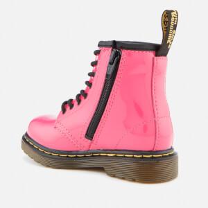 Dr. Martens Kids' 1460 T Patent Lamper Lace Up Boots - Hot Pink: Image 2