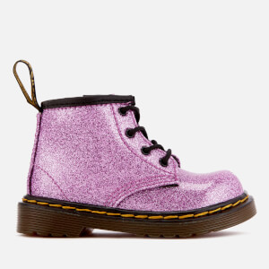Dr. Martens Toddlers' 1460 I Glitter Lace Up Boots - Dark Pink