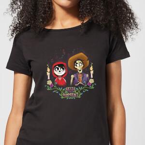 Camiseta Coco Disney Miguel y Héctor - Mujer - Negro