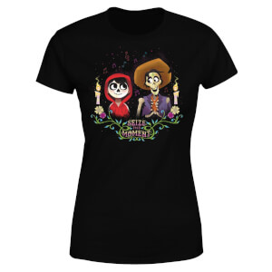 Coco Miguel And Hector Women's T-Shirt - Black