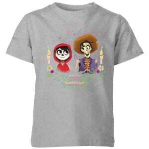 T-Shirt Enfant Miguel et Hector Coco - Gris