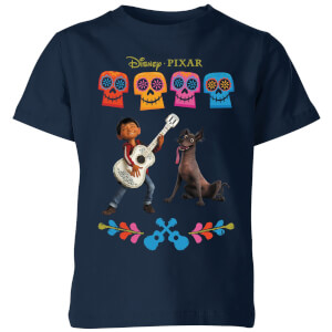 Coco Miguel Logo Kids' T-Shirt - Navy