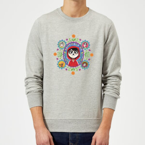Coco Remember Me Sweatshirt - Grey
