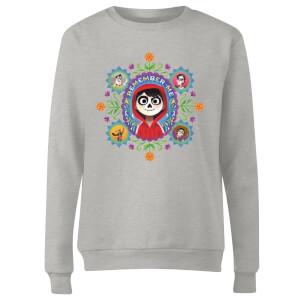 Coco Remember Me Women's Sweatshirt - Grey
