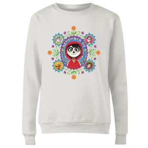 Coco Remember Me Women's Sweatshirt - White