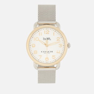 Coach Women's Delancey Watch - Silver/Gold