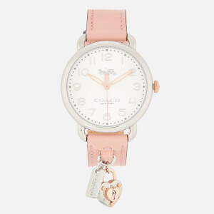 Coach Women's Delancey Charm Watch - Pink