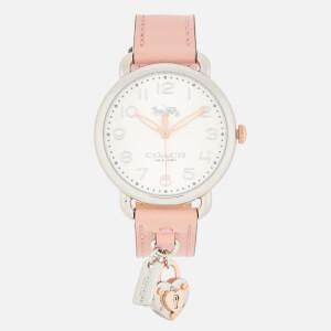 Coach Women's Delancey Charm Watch - Pink