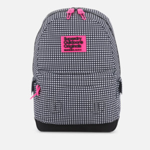 Superdry Women's Print Edition Montana Backpack - Black Gingham