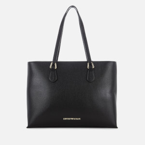 Emporio Armani Women's Shopper Bag - Black