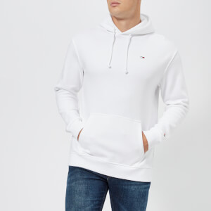 Tommy Jeans Men's Classic Overhead Hoody - Classic White